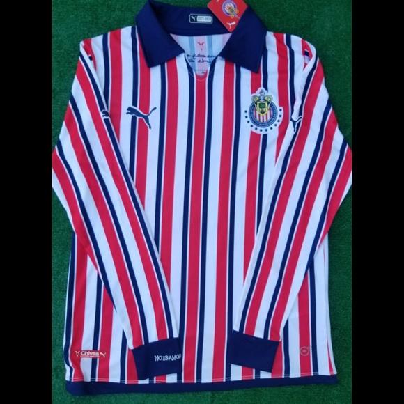 4ce33af3b Puma Shirts   2018 Chivas Guadalajara Long Sleeve Soccer Jersey ...